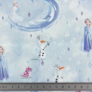 Tissu Reine des Neiges coupon 45×45 cm
