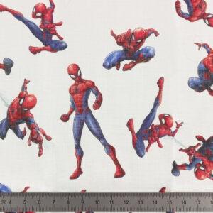Tissu Spiderman coupon 45×45 cm