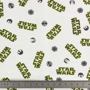 Tissu Star Wars coupon 45×45 cm