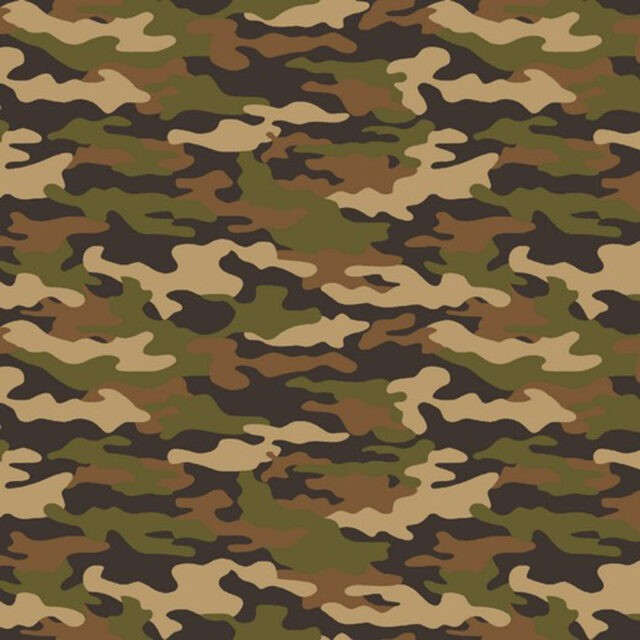 Tissu camouflage Poppy Fabric à La Boutik Créative de Rives