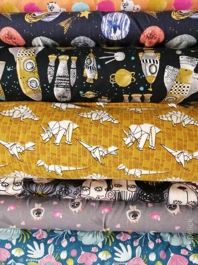 Tissus jersey à La Boutik Créative de rives oct 20