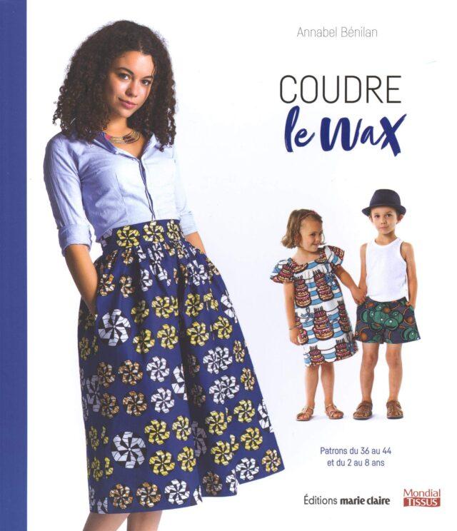 Coudre le Wax Couverture livre couture à La Boutik Creative de Rives