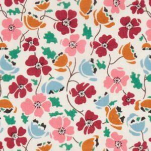 Tissu Liberty Tana Lawn Edie Rose  (x 10 cm)