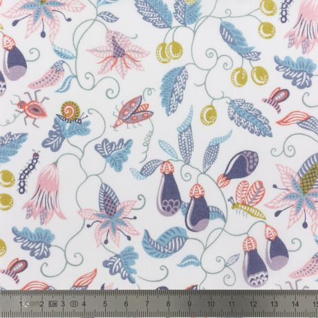 Tissu Liberty Fabrics Tana Lawn® Jitter Bug à La Boutik Créative de Rives