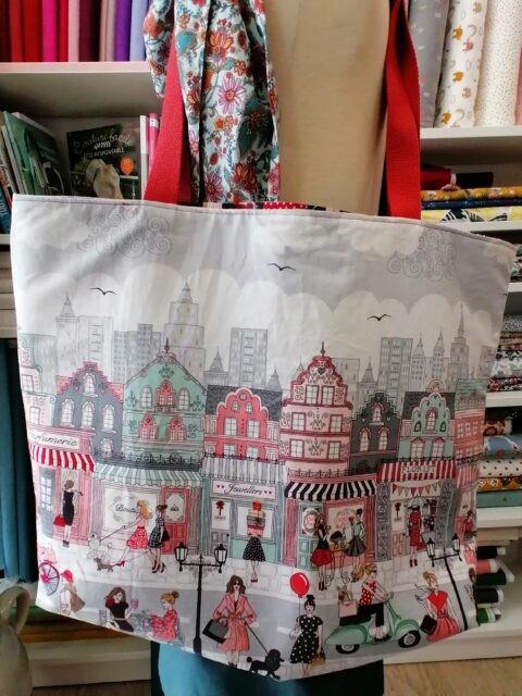 Le sac cabas de Loubi chan - un tuto de La Boutik' Créative de Rives