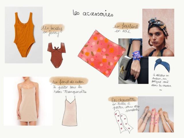 Livre Ma Garde Robe Boheme planche-accessoires à la Boutik Creative de Rives