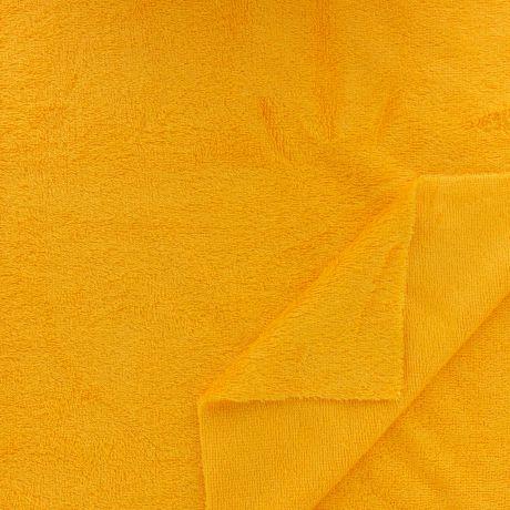 Tissu éponge de bambou jaune madras Oekotex à La Boutik Creative de Rives