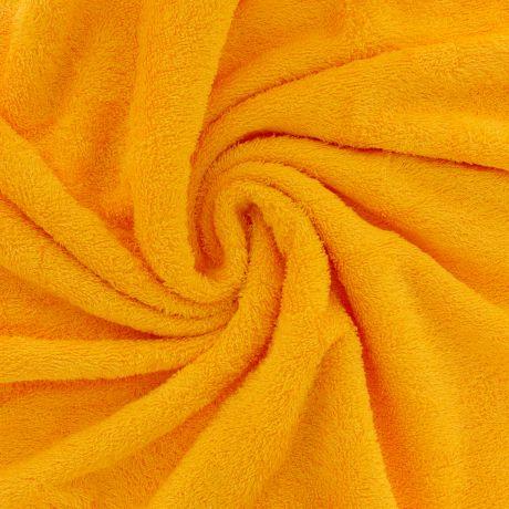 Tissu éponge de bambou jaune madras à La Boutik Creative de Rives