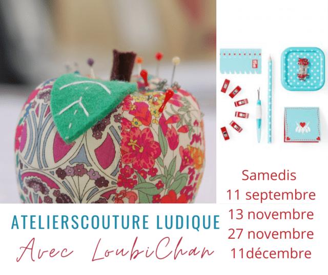 Ateliers Couture Ludique de Loubi à Boutik Creative de Rives