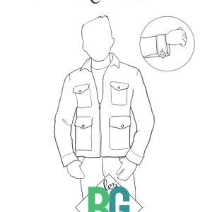 Patron les BG La veste  «Le Citadin»