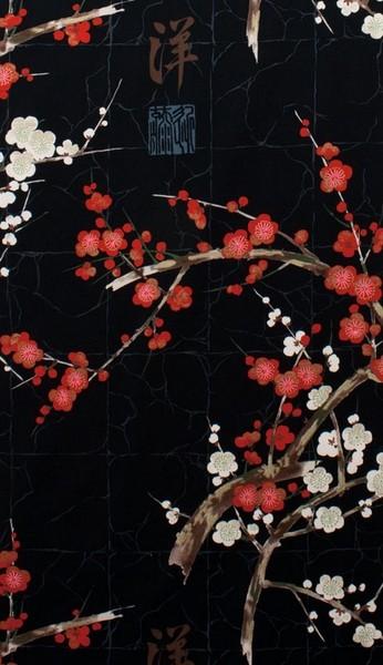Tissu Indichine Noir Alexander Henry Fabric à La Boutik' Créative de Rives