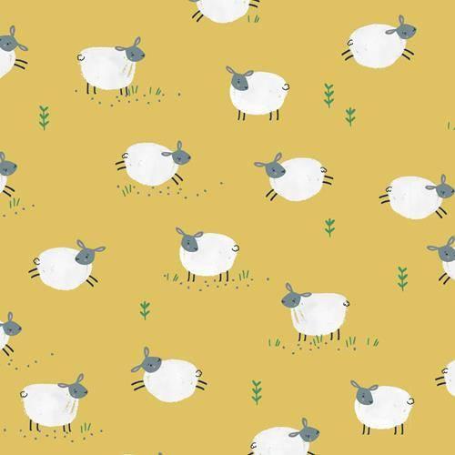 Tissu-coton-Farm-Days-Les-moutons-Dashwood-studio-a-la-Boutik-Creative-de-Rives