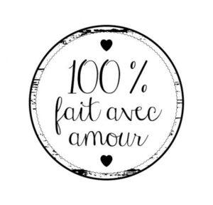 100% fait avec amour
