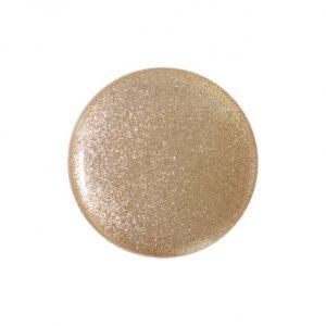 Bouton pastille col doré 15mm