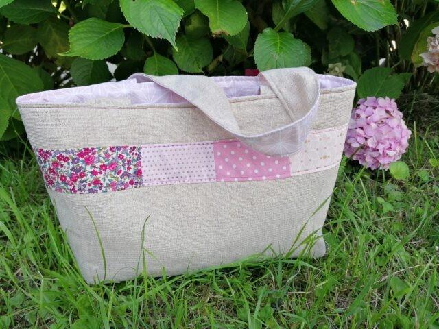Le sac d'été - tuto couture La Boutik Creative de Rives 2