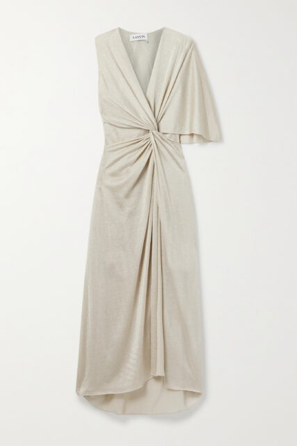 Robe du soir Lanvin - Lurex or