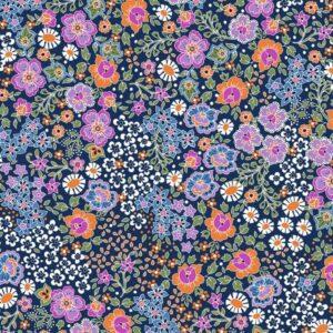 Popeline de coton très douce Dashwood Ace Lawn Bahar Lilac (x10cm)
