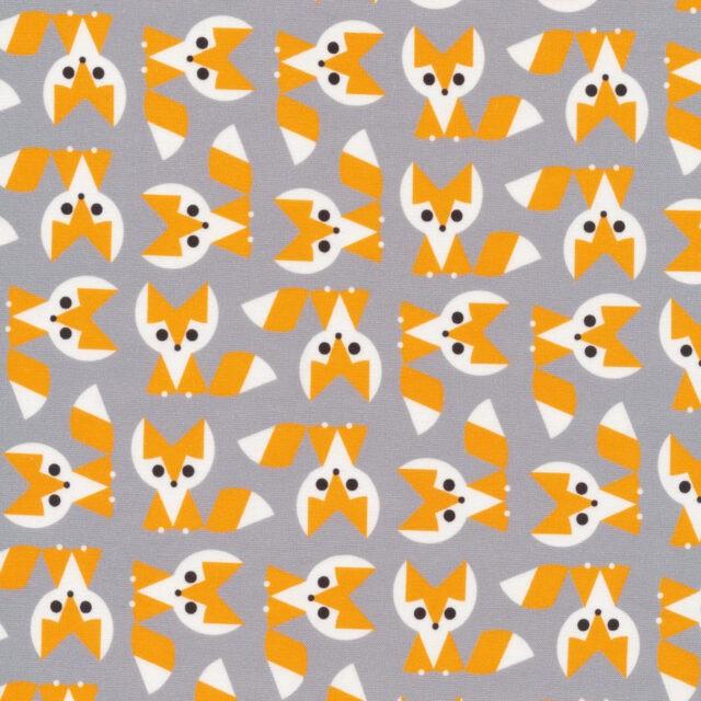 Tissu coton bio Renards by Cloud 9 collection Emberley Favorite - La Boutik Creative de Rives