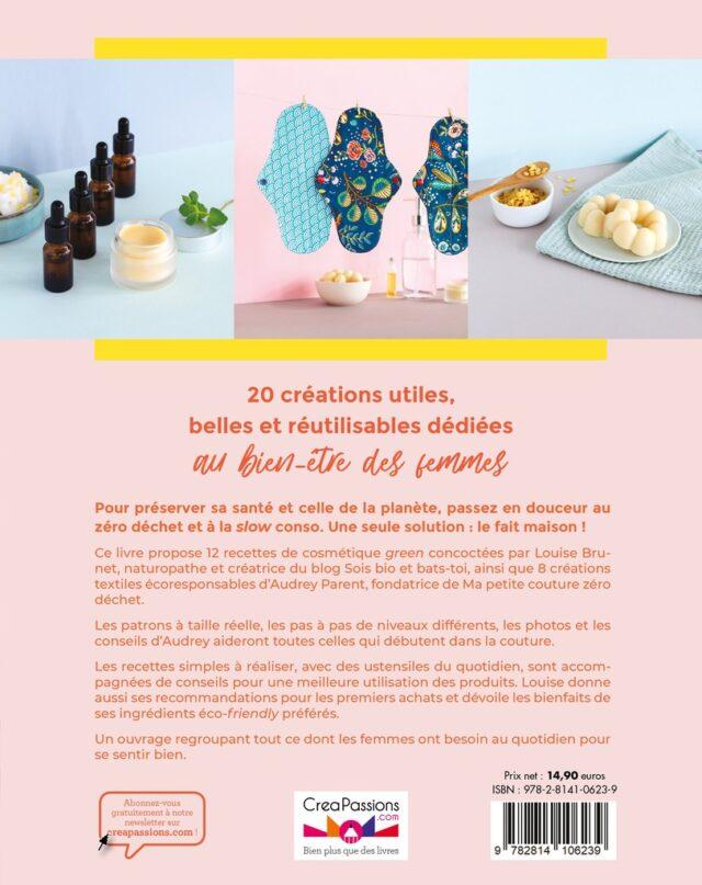 Trucs de filles eco-friendly dos couv - La Boutik Creative de Rives