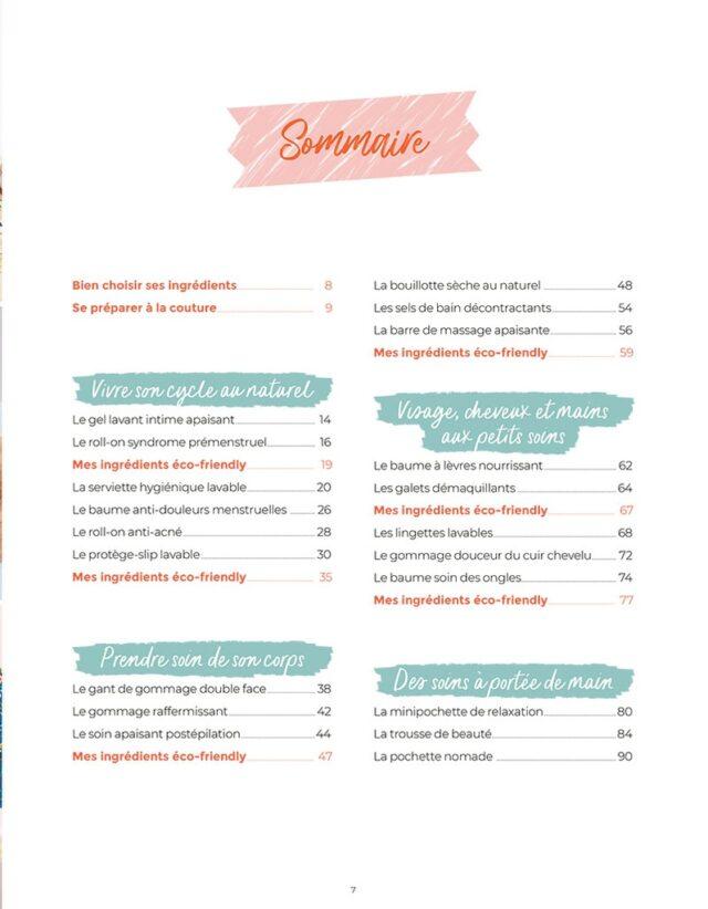 Trucs de filles eco-friendly sommaire - La Boutik Creative de Rives