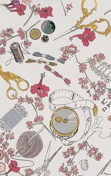 Tissu coton The Gasthlies sewing treasures à La Boutik Créative de Rives
