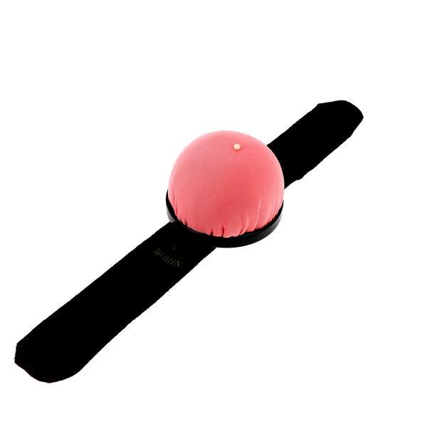 Bracelet pelote Edition spéciale Bohin Octobre Rose - Rose clair- La Boutik Créative de Rives 2