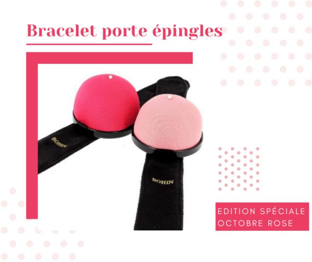 Bracelets porte épingles à La Boutik' Créative