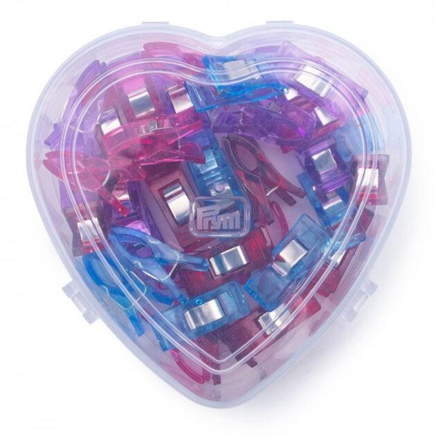 Coffret coeur de pinces magiques Prym Love à La Boutik' Créative de Rives 4